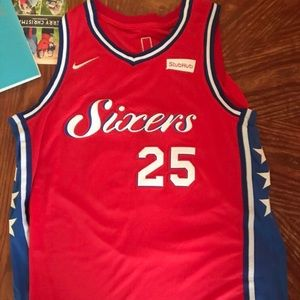 Ben Simmons Red #25 Jersey